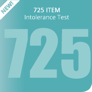 725 item Intolerance Test