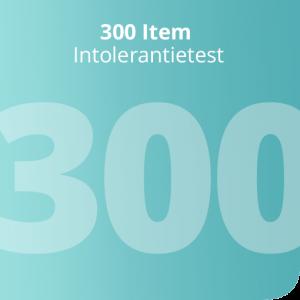 300 Item Intolerantietest