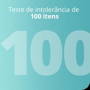 Teste de intolerância de 100 itens