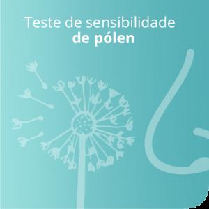 Teste de sensibilidade de pólen