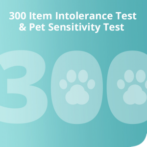 300 Item intolerance & Pet Sensitivity Test