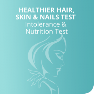 Healthier hair, skin & nails test