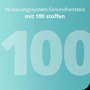 Verdauungssystem-Gesundheitstest mit 100 stoffen