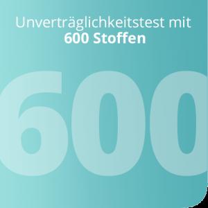 Unverträglichkeitstest mit 600 Stoffen