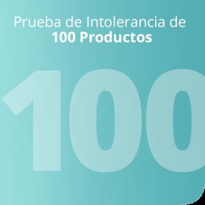 Prueba de Intolerancia de 100 Productos