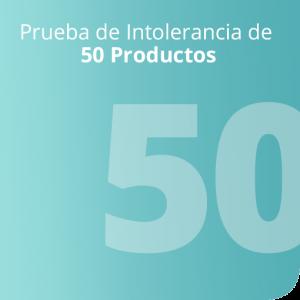 Prueba de Intolerancia de 50 Productos