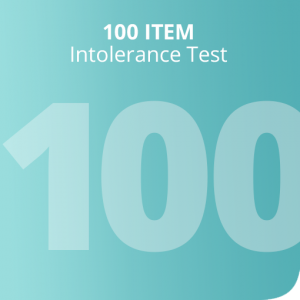 100 Item intolerance test