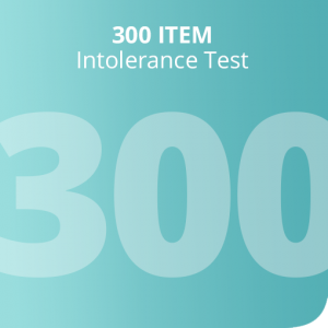 300 Item intolerance test