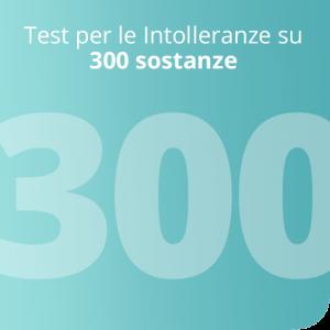 Test per le Intolleranze su 300 sostanze