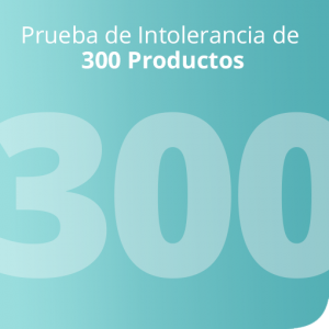 Prueba de Intolerancia de 300 Productos