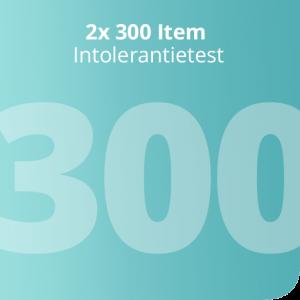 2x 300 Item Intolerantietest
