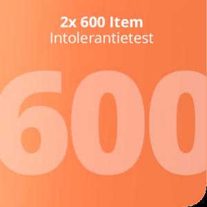 2x 600 Item Intolerantietest