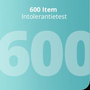 600 Item Intolerantietest