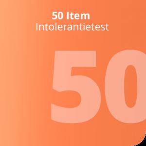 50 Item Intolerantietestt