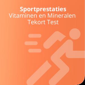 Vitaminen en Mineralen Tekort Test