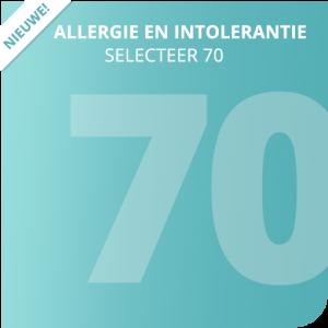 Allergie en intolerantie Selecteer 70