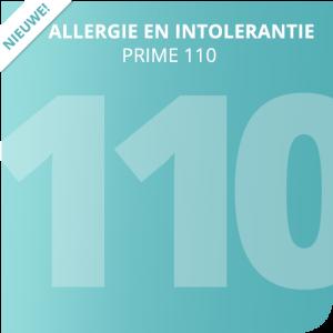 Allergie en intolerantie Prime 110