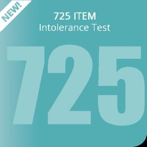 725 item Intolerance Test