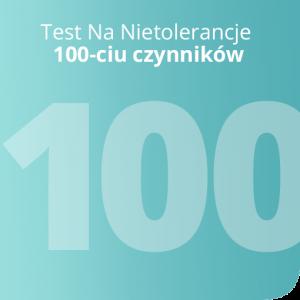 Test Na Nietolerancje 100 czynników