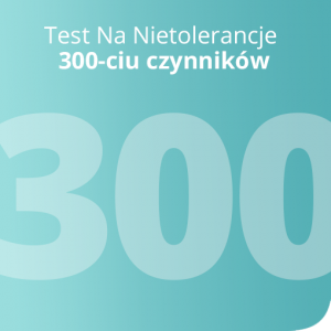 Test Na Nietolerancje 300 czynników
