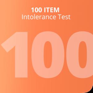 100 Item intolerance test