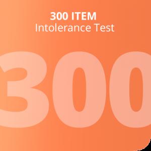 300 Item intolerance test
