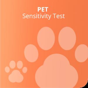 Pet sensitivity test