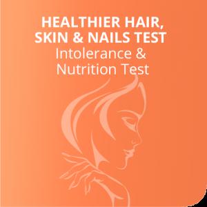 Healthier hair, skin & nails test