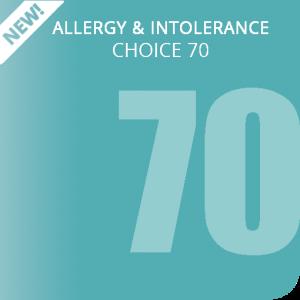 Allergy & Intolerance Choice 70